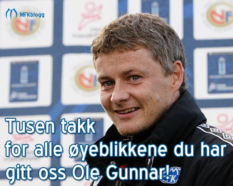 Takk Ole Gunnar