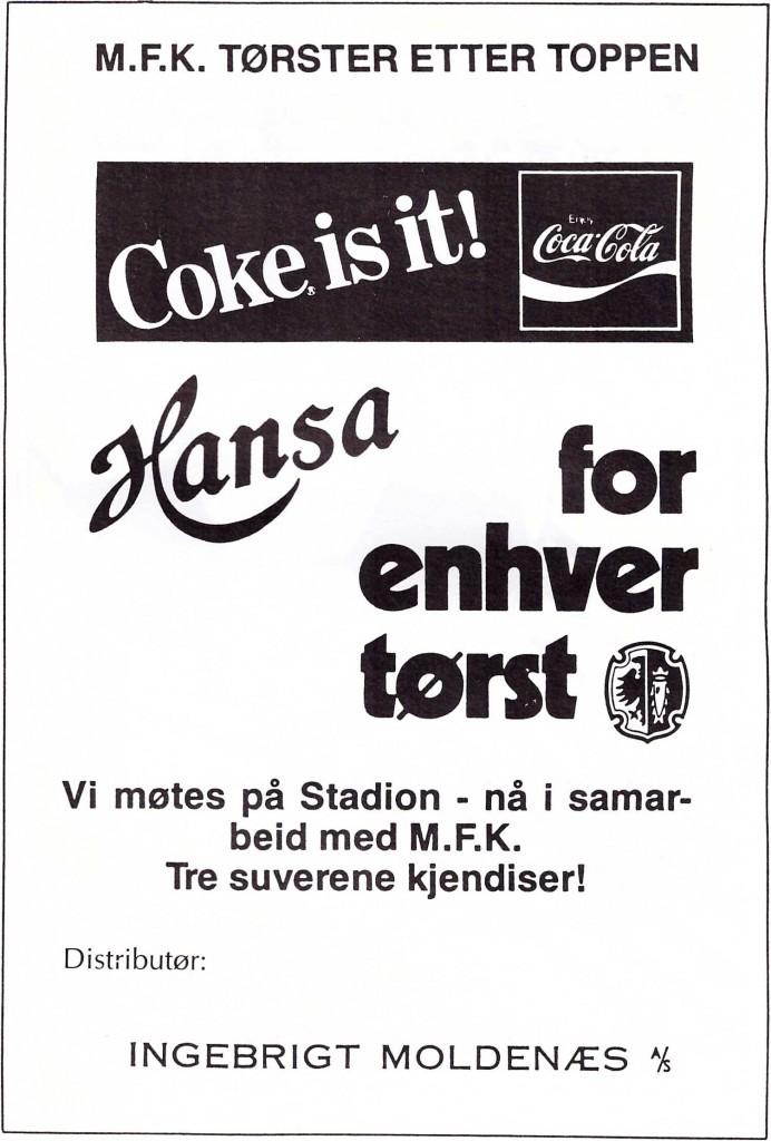 Kampprogram Molde Rosenborg s7